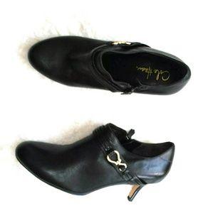 Cole Haan Nike Air Black Booties Size 9B