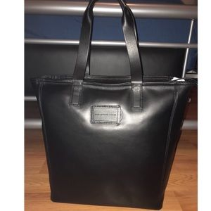 Marc by Marc Jacobs Black Leather Tote Large $528
