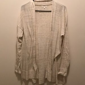 NWOT Lou and Grey Cardigan with split sides