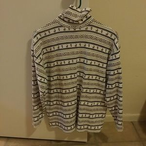 Orvis Christmas Long Sleeve Turtle Neck Shirt