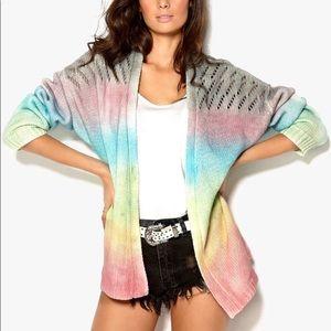 UNIF • Rainbow Cake Sweater Cardigan