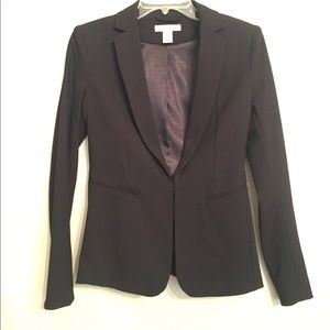 H&M black suit Blazer NWOT