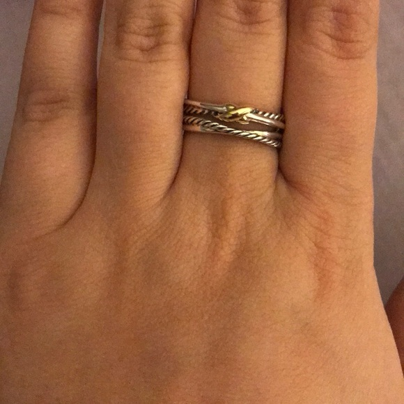David Yurman Jewelry Black Friday Sale David Yurman X Crossover Ring Poshmark