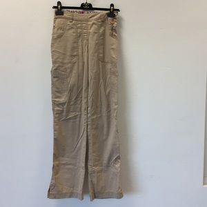 Koi beige Sara scrub pants size XS tall