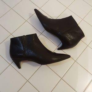 Genuine leather Zara booties. NWT.