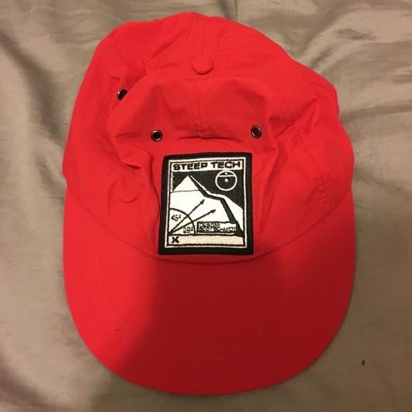 12a5d41a Supreme Accessories | X North Face Steep Tech Cap Osfa Red | Poshmark