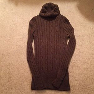 Jcrew Factory cable knit chunky turtleneck