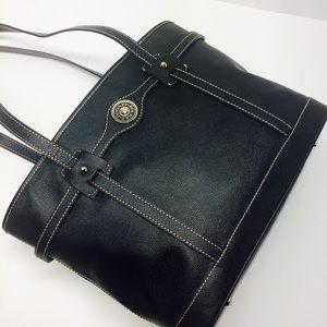 Dooney & Bourke Black Leather Tote