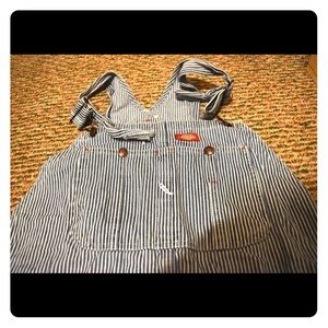 Striped Dickies Overalls