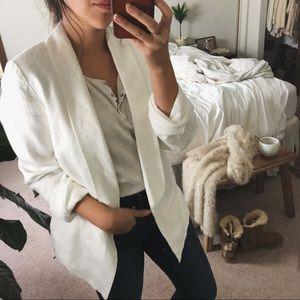 MADEWELL/ linen blazer