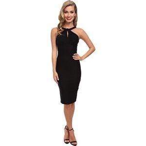 NWT Stop Staring Twist Neck Detail Bodycon Dress
