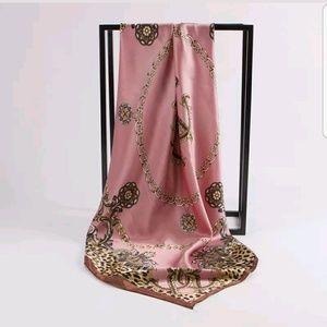 Pretty pink scarf last one