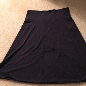 Athleta Black Medium Skirt. New w/o tags!