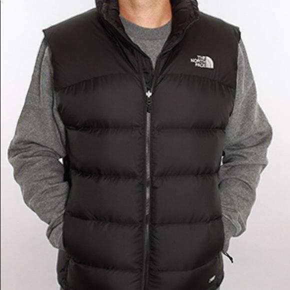 cc7cdb1d5 The north face nuptse black vest men's L