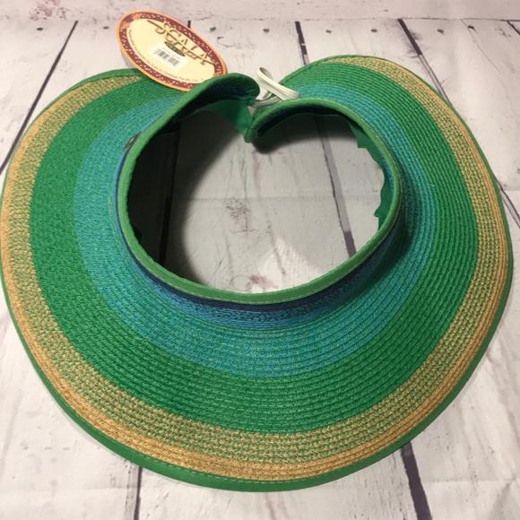 Scala Accessories | Adult Womens Sun Visor Gardening Hat Cap New ...