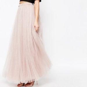 Little Mistress Maxi Tulle Skirt NWT