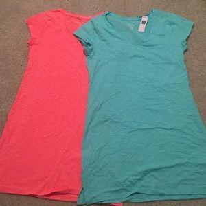 Gap shirt dresses
