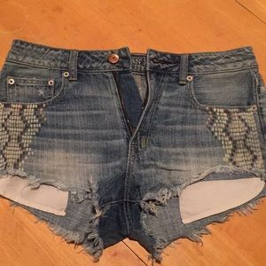 American eagle 🦅 blue jeans shorts