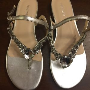 Nine West - Rhinestone Sandals