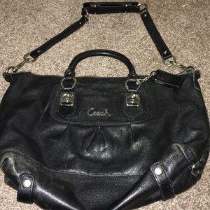 Coach purse - *flawed*