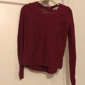 Maroon Red sweater