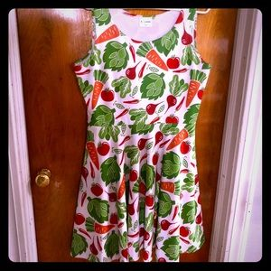 Veggie Skater Dress