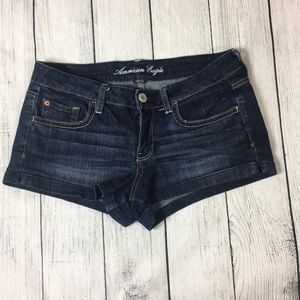 Chic dark blue jean shorts 💙
