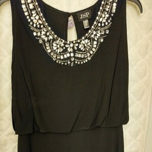 Black Dress with Rinestones