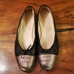 💯Authentic Chanel Ballet Flats 38