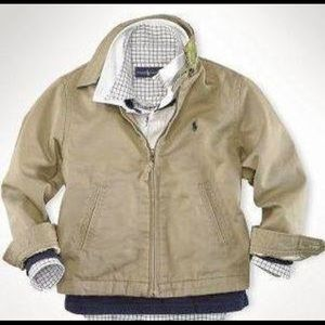 New polo by RL khaki jacket