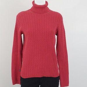 Stretch Turtleneck Sweater Sz M
