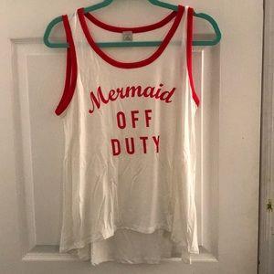 Mermaid Off Duty Tank