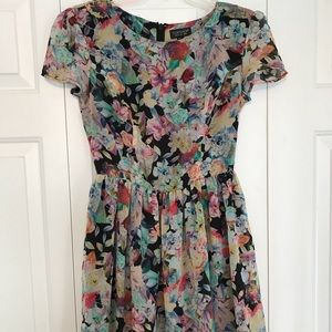 Top Shop floral dress