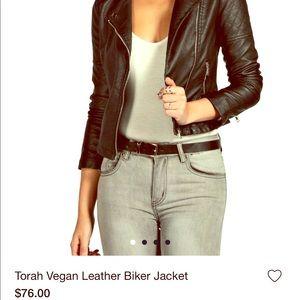 Black very cute leather jacket