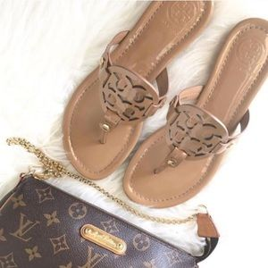 Tory Burch millers patent sand