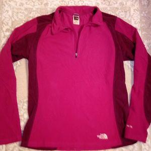 The north face half zip pullover medium