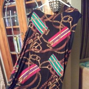 Ralph Lauren Signature Design Stretch Dress