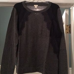 Jcrew Factory casual/professional wool w Lace