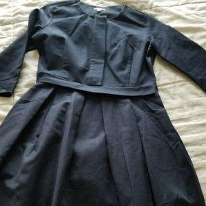 GAP navy structured dress Size 2