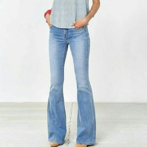 BDG URBAN OUTFITTERS HIGH WAIST FLARES