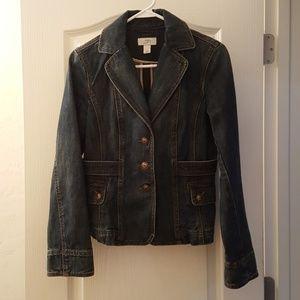 Ann Taylor Loft denim jacket/blazer