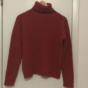 💯auth Burberry turtleneck sweater pl