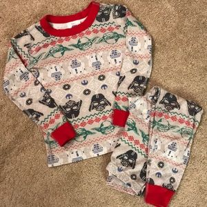 Hanna Andersson pajamas - size 110