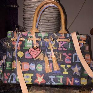 Dooney & Bourke Graffiti handbag in black