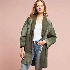 Anthropologie kimono utility jacket. NWT