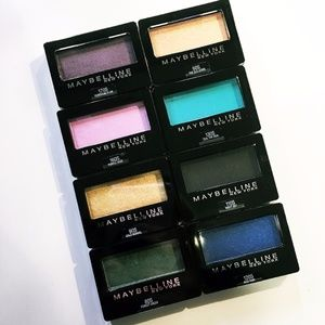 Set of 8 Maybelline Expert Wear Eyeshadow