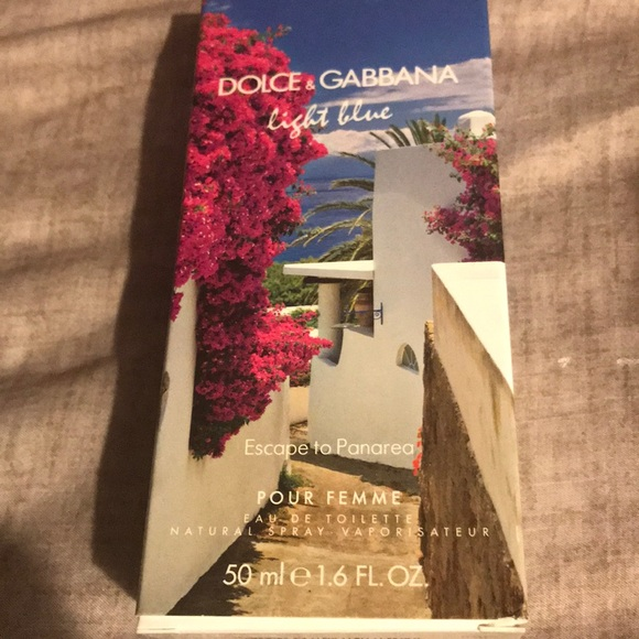 21306873 Dolce & Gabbana Other | Dolce Gabbana Light Blue Escape To Panarea ...