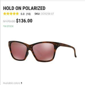 Oakley Hold On polarized sunnies
