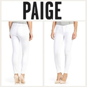 LIKE NEW!  Paige Verdugo Ankle skinny jeans in 24