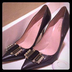 Kate Spade Jeweled Heel